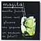 Impression sur verre Cocktail Mojito 30 x 30 cm