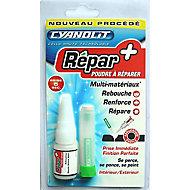Colle Répar+ Poudre à réparer 20 gr Cyanolit