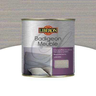 Badigeon Meuble Liberon Gris Perle Mat 0 5l Castorama