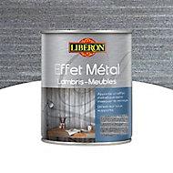 Effet métal lambris et meubles Liberon gris atelier satin 1L