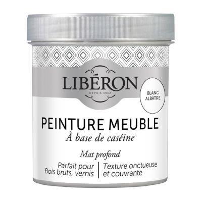 Peinture  Base De Casine Meubles Liberon Blanc Albtre Mat L
