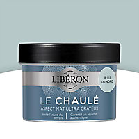 Peinture boiseries intérieur Liberon Le Chaulé bleu du nord ultra mat 0,25L