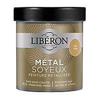 Peinture métallisée bois intérieur Liberon Métal soyeux or pur satin 0,5 L