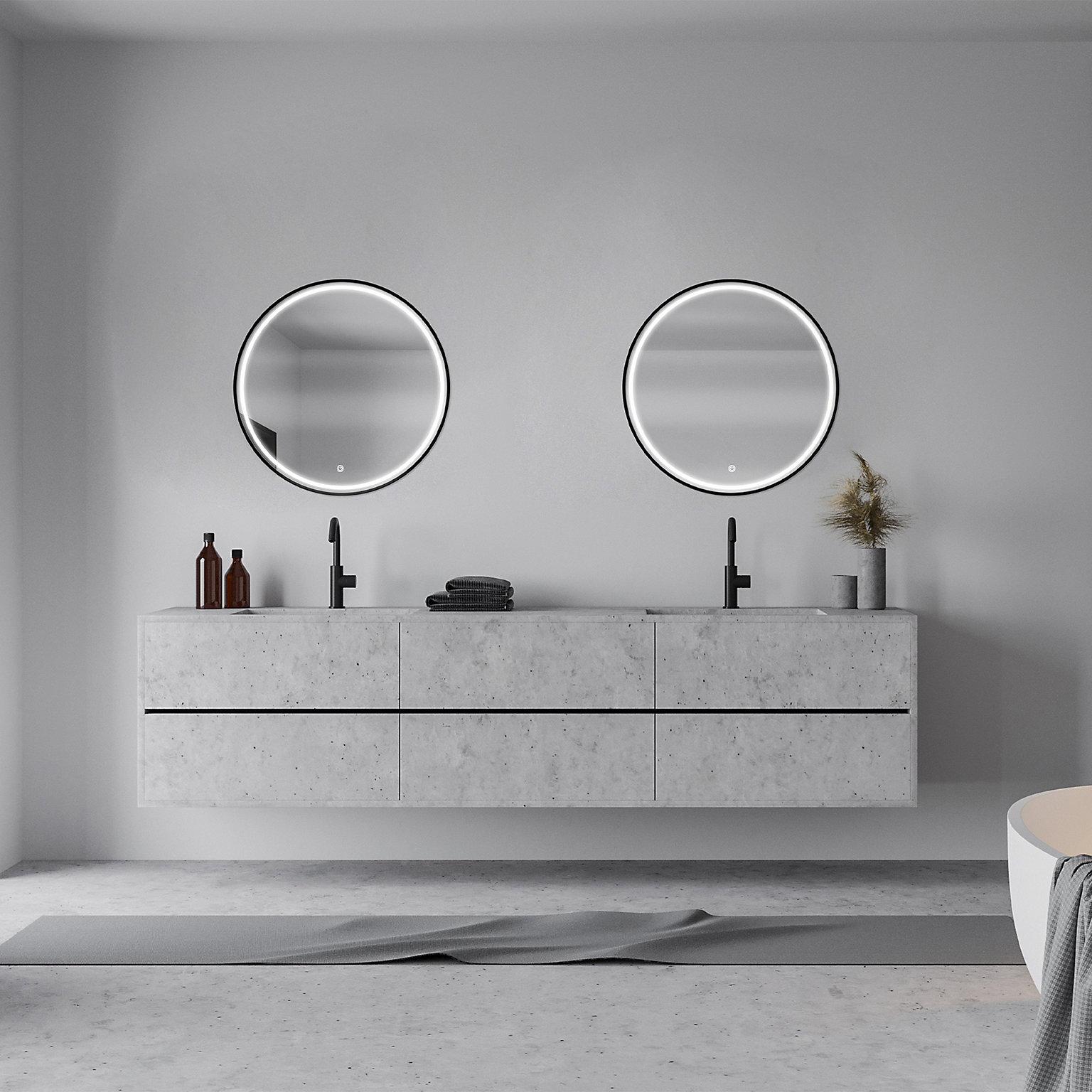 Trend Miroir Salle De Bain Lumineux Castorama