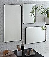 Miroir Steelton argenté 60 x 120 cm