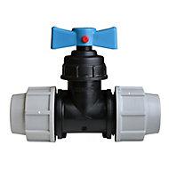 Vanne robinet égal pour tuyau Ø 32 mm