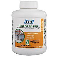 Pot de colle PVC 500 ml avec pinceau