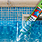 Joint mastic polymère GEB pour piscine blanc 290 ml