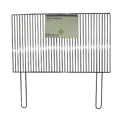 Grille de barbecue Blooma simple 67 x 40 cm