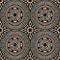 Papier peint expansé sur intissé Cercles beige