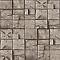 Papier peint vinyle expansé sur papier Carrés de Bois