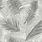 Papier peint intissé Tropical gris