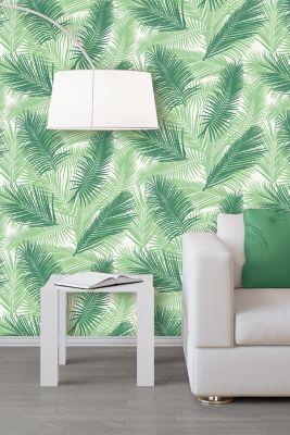Papier Peint Intisse Tropical Vert Castorama
