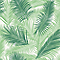 Papier peint intissé Tropical vert