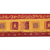 Frise Lutèce Maroc rouge