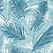 Papier peint intissé Tropical bleu
