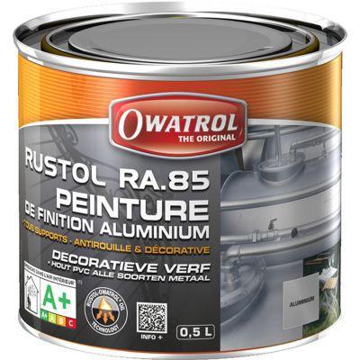 Peinture De Finition Aluminium Rustol Owatrol L  Castorama