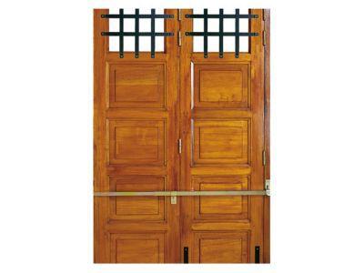 Barre de s curit afbat pour portes de garage 2 4 vantaux - Barre de securite pour porte de garage coulissante ...