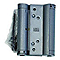 Charnière double action acier époxy gris AFBAT 75 mm