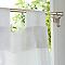 Barre de vitrage sans perçage PRESTO Basic laiton Ø9 mm x L.30/45 cm