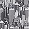 Papier peint LUTECE Buildings NY gris