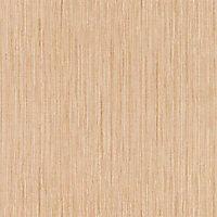Papier peint vinyle sur intissé Lutèce paille beige doré