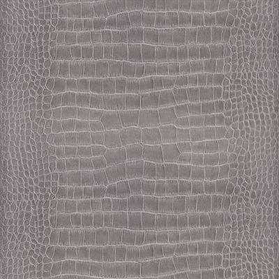 papier peint vinyle sur intiss lutece crocodile gris. Black Bedroom Furniture Sets. Home Design Ideas