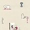 Papier peint expansé LUTECE repas famille beige
