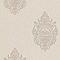 Papier peint expansé sur intissé LUTECE Médaillon noir beige