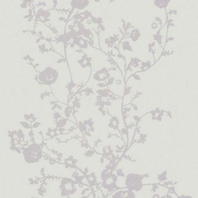 Papier Peint Vinyl Sur Expanse Relief Ecriture Gris Castorama