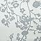 Papier peint expansé sur intissé LUTECE Naf Naf branche fleurie gris