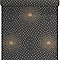 Papier peint expansé sur intissé LUTECE Nébuleuse noir/doré