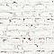Papier peint papier Briques Blanches