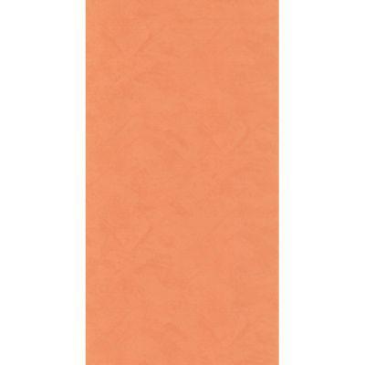 Papier peint papier sur papier LUTECE uni orange