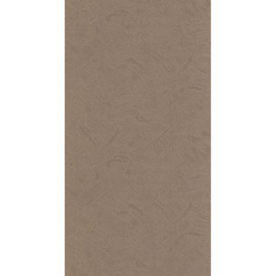 Papier peint papier sur papier LUTECE uni chocolat