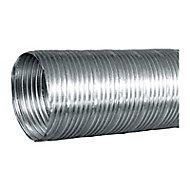 Gaine flexible en alu compact 3 m, ø125 mm