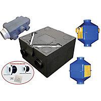 Kit VMC double flux ISEO