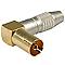 Fiche femelle 9,52 mm coudée connectique or HQ OPTEX