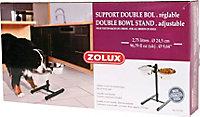 Support réglable pour 2 bols 2.5L