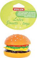 Jouet pour chien hamburger vinyl 8cm
