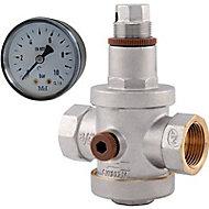Réducteur de pression à membrane F20x27 Dipra + manomètre