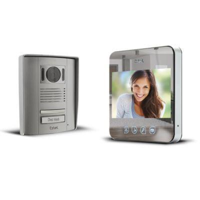 Interphone Vidéo Couleur Miroir Extel Quattro2 Castorama