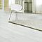 Parquet pm Brossé Huilé Blanc 200x155x21 cm (vendu à la botte)