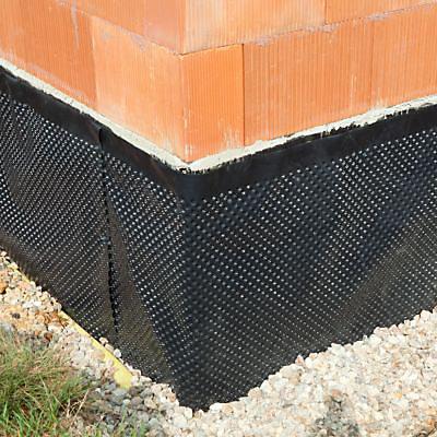 Membrane De Protection Soubassement Monarflex Monarfondation 1 5 X 20m Castorama