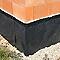 Membrane de protection soubassement MONARFLEX Monarfondation 1,5 x 20m