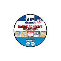 Bande adhésive d'étanchéité anti-fissures DIP alu L.3 m