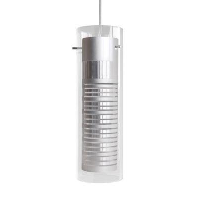 Suspension SEYNAVE Titanium alu/transparent h.30 cm