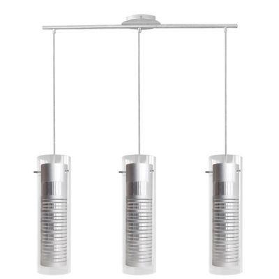 Suspension SEYNAVE Titanium alu/transparent h.33 cm