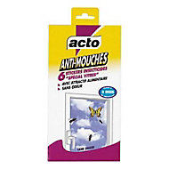 Stickers anti mouches x 6