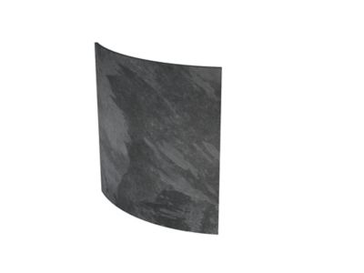 Radiateur électrique à inertie sèche pierre naturelle Mazda Dual Kherr Curve silex dark 2000W